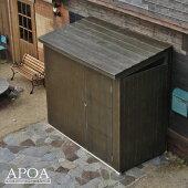 オリジナル樹脂製物置NAYA・・・本物の木材のような質感と耐久性を実現したおしゃれな物置[物置エクステリア・ガーデン]