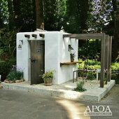 お庭におしゃれなオリジナル樹脂製物置KOBO[物置エクステリア・ガーデン]