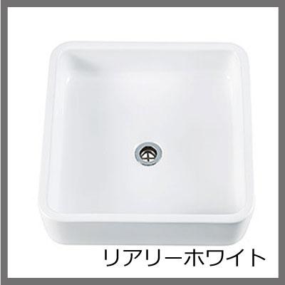 四角く、シンプルで使いやすい洗面器Mスクエア♪[洗面ボウル/手洗い鉢/洗面器/リアリーホワイト/白/グラファイト/黒/シンプル/ナチュラル/9L/正方形/置型]