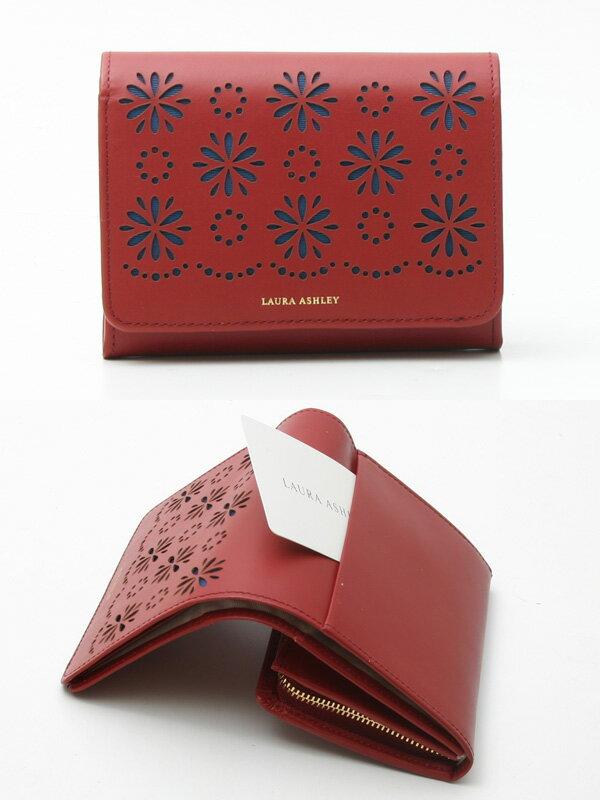 【定価より20%OFF】ローラアシュレイ 財布 Laura Ashley デイジーコレクション 二つ折り財布 60011