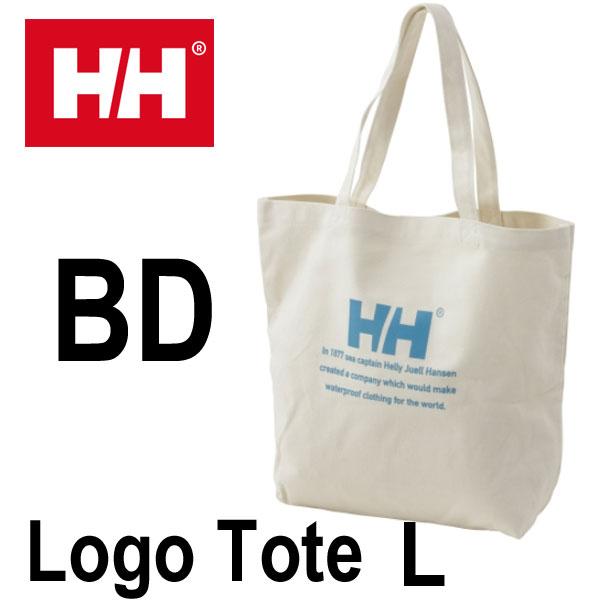 ヘリーハンセン ロゴトートL HELLY HANSEN Logo Tote L HY91732 (BD)ブルーダリア