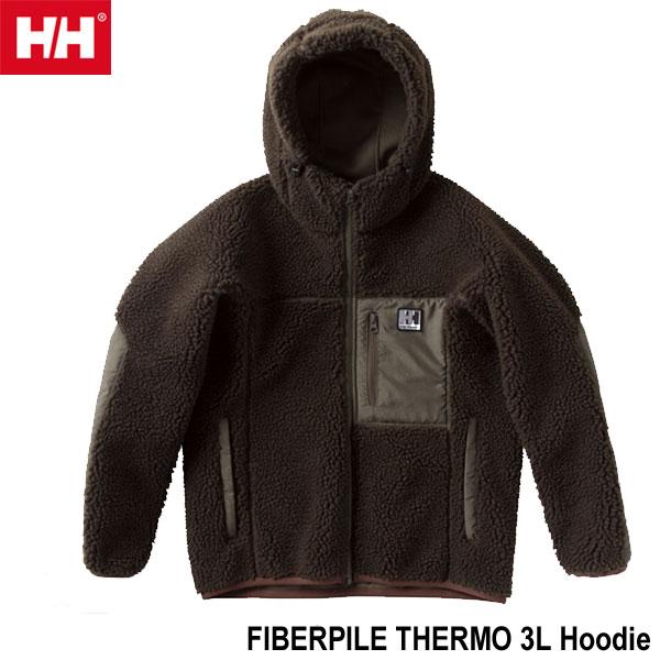 ヘリーハンセン WM WL 送料無料 ブロウストッパー ファイバーパイル サーモ 3L フーディー(ユニセックス) Helly Hansen Blow Stopper FIBERPILE THERMO 3L Hoodie (CG)シダーグリーン HOE51850 CG