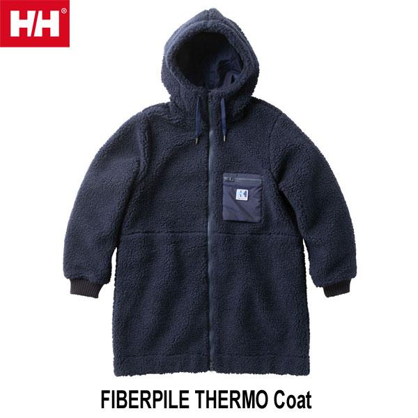 ヘリーハンセン WM WL 送料無料 Wファイバーパイル サーモ コート(レディース) Helly Hansen FIBERPILE THERMO Coat (N)ネイビー HOW51854 N