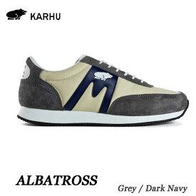 カルフ KH802505 グレー/ダークネイビー アルバトロス KARHU Albatoross   Grey / Dk Navy レディース メンズ ユニセックス 靴 クッションシューズ スニーカー シロクマ 北欧