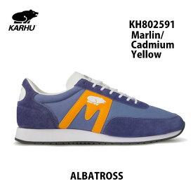 カルフ アルバトロス KH802591 マーリン/カドミウムイエロー KARHU Albatoross Marlin/Cadmium Yellow レディース メンズ ユニセックス 靴 クッションシューズ スニーカー シロクマ 北欧