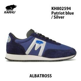 カルフ アルバトロス KH802594 パトリオット ブルー/シルバー KARHU Albatoross Patriot blue / Silver レディース メンズ ユニセックス 靴 クッションシューズ スニーカー シロクマ 北欧