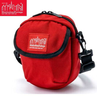 Mini shoulder bag shoulder Cordura pouch of Red Manhattan Portage Hudson Bag Red MP1402, Manhattan Portage Geri Hudson