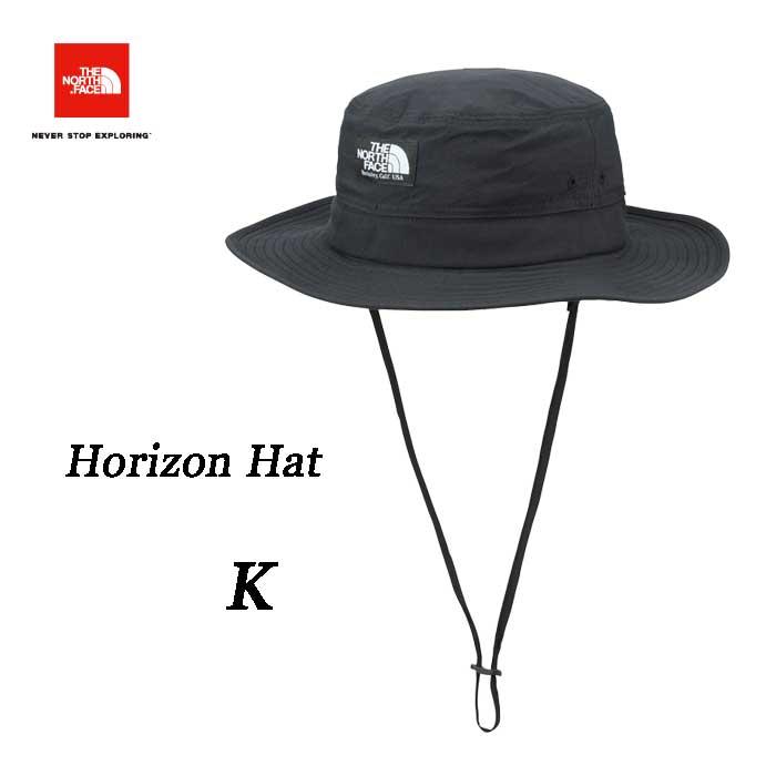 ザ ノースフェイス あす楽対応 2018年最新在庫  ホライズン ハット 通気性に配慮したサンシールドハット UVケア 紫外線対策  The North Face Horizon Hat NN01707 (K) ブラック
