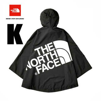 The North Face-adaptive WP camping cape (unisex) The North Face WP CAMP Cape festival hiking camping (K) black