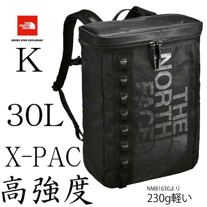 ザ ノースフェイス 高強度 XP ヒューズボックス The North Face XP Fuse Box 30L nm81767 (K)ブラック リュック バックパック 大学生 高校生 女子高生 新社会人 フレッシャーズ パソコン収納 タブレット NM81630の高強度、軽量仕様です