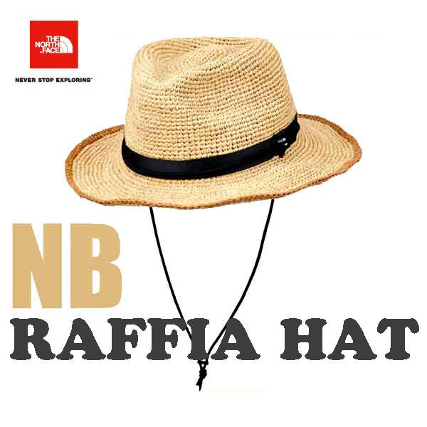 ザ ノースフェイス あす楽対応 段ボール梱包 ラフィア ハット ヤシ科の天然素材ラフィアを使用したサファリハット。 ハット 帽子 The North Face Raffia Hat (Men's) (NB)ナチュラルベージュ NN01554
