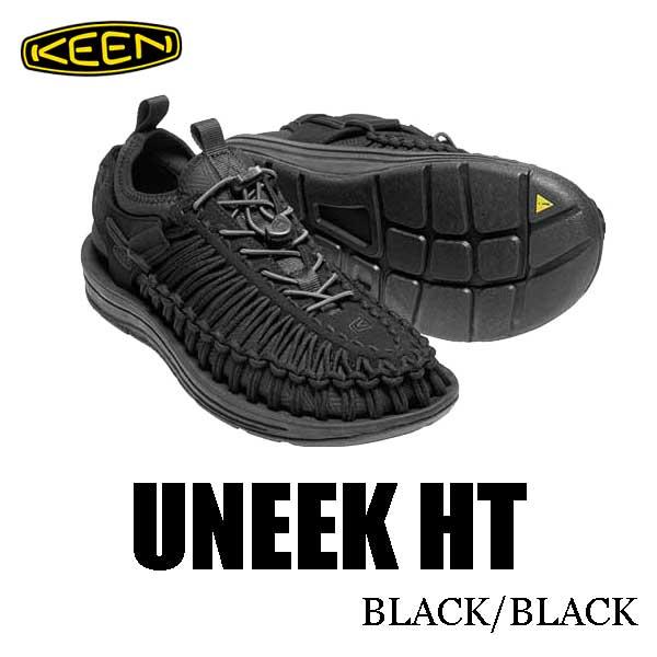 キーン 新作 ウィメンズ レディース ユニーク HT スポーツサンダル オープンエアースニーカー Keen Womens UNEEK HT 1018028 BLACK/BLACK