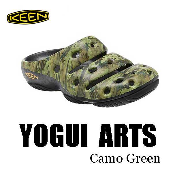 キーン 7月27日出荷予定 継続カラー メンズ ヨギ アーツ サンダル クロッグ KEEN MENS YOGUI ARTS  1002034 Camo Green