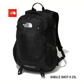 ザ ノースフェイス NM71903 K BLACK シングル ショット 23L 20年最新在庫 小型リュックを代表する人気モデル ワンデイハイクから日常まで、さまざまなシーンの使いやすさを追求する、定番デイパック The North Face Single Shot ブラック 送料無料