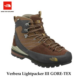 ザ ノースフェイス NF51610 BG 25.5cm あす楽対応 ヴェルベラ ライトパッカーIII GORE-TEX(ユニセックス) 防水 トレッキング ブーツ The North Face Verbera Lightpacker III GORE-TEX (BG)ココアブラウン×プランテーショングリーン