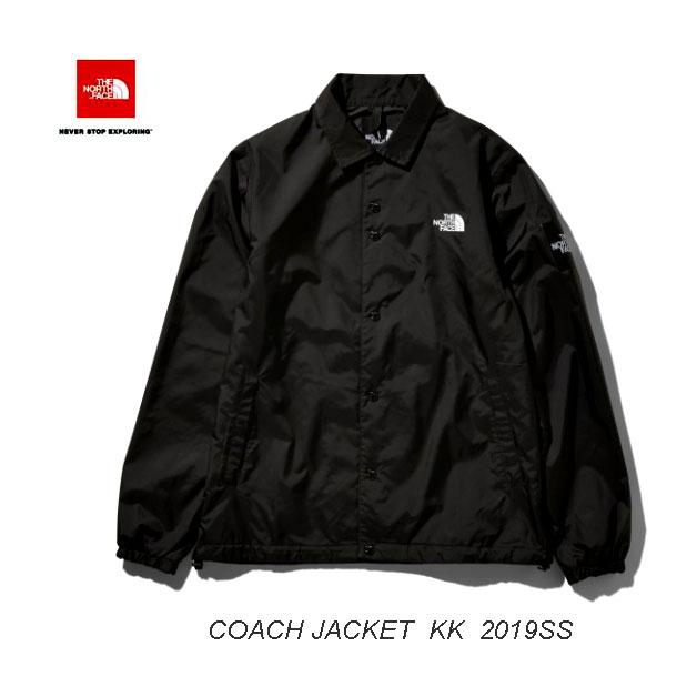 ザ ノースフェイス 2019年春夏最新カラー ザ コーチ ジャケット(メンズ) お一人様1枚まで The North Face Mens THE COACH JACKET BLACK2 NP21836 (KK)ブラック2