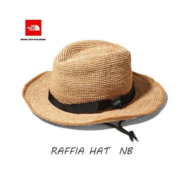 ザ ノースフェイス 段ボール梱包です ラフィア ハット ヤシ科の天然素材ラフィアを使用したサファリハット。 ハット 帽子 The North Face Raffia Hat (NB)ナチュラルベージュ NN01554