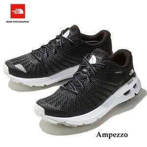 ザ ノースフェイス NFW01901 KW アンペッツォ(レディース) The North Face W Ampezzo (KW)TNFブラック×TNFホワイトトレイルランニングシューズ トレラン 靴