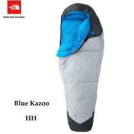 ザ ノースフェイス あす楽対応 ブルーカズー The North Face Blue Kazoo NBR41800 (HH)ハイライズグレー×ハイパーブルー キャンプ シュラフ 寝袋
