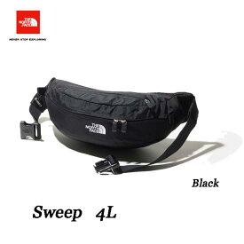 ザ ノースフェイス NM71904 BLACK スウィープ ブラック ウエストバッグ The North Face Sweep 4L ブラック K BLACK 2020年最新在庫