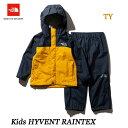 ザ ノースフェイス ハイベントレインテックス(キッズ) The North Face Kids HYVENT RAINTEX NPJ11911 (TY)TNFイエロー