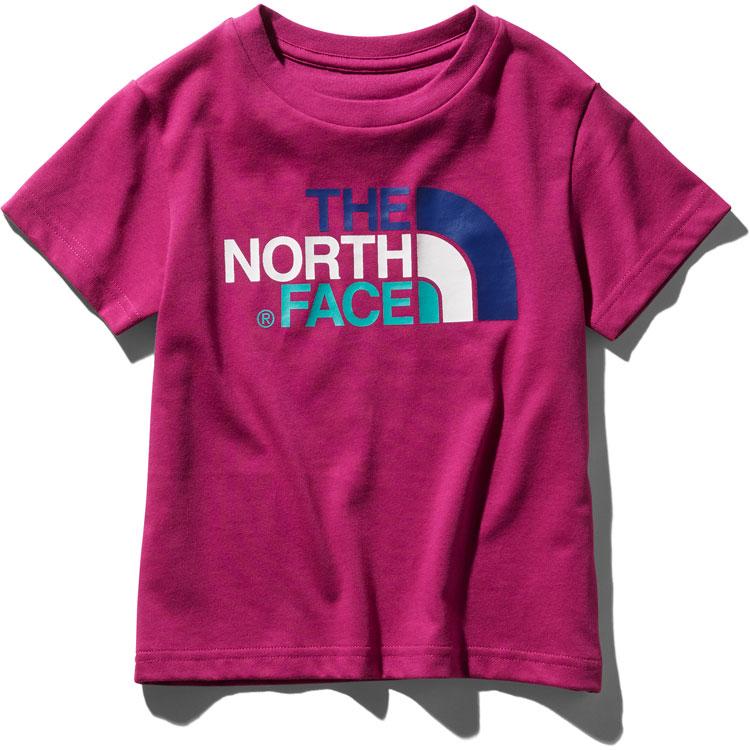 ザ ノースフェイス ネコポス便対応送料無料 無償修理対象日本正規品 ショートスリーブカラフルロゴティー(キッズ) 子供用 半袖Tシャツ The North Face Kids S/S Colorful Logo Tee NTJ31991 (FU)フューシャピンク