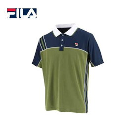 FILA VM5432 93 20 フィラ ゲームポロシャツ カーキ