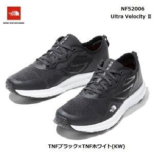 ザ ノースフェイス NF52006 KW ウルトラ ベロシティ II(ユニセックス)The North Face Ultra Velocity II TNFブラック×TNFホワイト(KW)ランニングシューズ トレーニングシューズ 靴