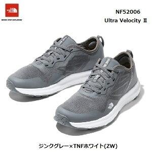 ザ ノースフェイス NF52006 ZW ウルトラ ベロシティ II(ユニセックス)The North Face Ultra Velocity II ジンクグレー×TNFホワイト(ZW)ランニングシューズ トレーニングシューズ 靴