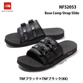 ザ ノースフェイス NF52053 KK ベース キャンプ ストラップ スライド(ユニセックス)The North Face Base Camp Strap SlideTNFブラック×TNFブラック(KK) スポーツサンダル