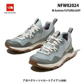 ザ ノースフェイス NFW02024 AW アクティビスト フューチャーライト(レディース)The North Face W Activist FUTURELIGHT アガベグリーン×ロートアイアン(AW)トレッキングシューズ 靴