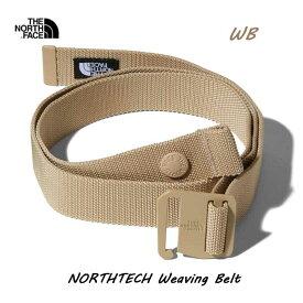 ザ ノースフェイス NN21960 WB ノーステックウェービングベルト The North Face NORTHTECH Weaving Belt NN21960 ツイルベージュ(WB)