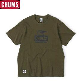 チャムス CH01-1834-M022 ブービーフェイスTシャツ ネコポス便対応 CHUMS Booby Face T-Shirt Khaki トップス Tシャツ カーキ