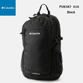 コロンビア PU8387 010 キャッスルロック15Lバックパック ブラックColumbia Castle Rock 15L Backpack Black リュックサック バックパック 男女兼用 アウトドア ハイキング 通園 遠足