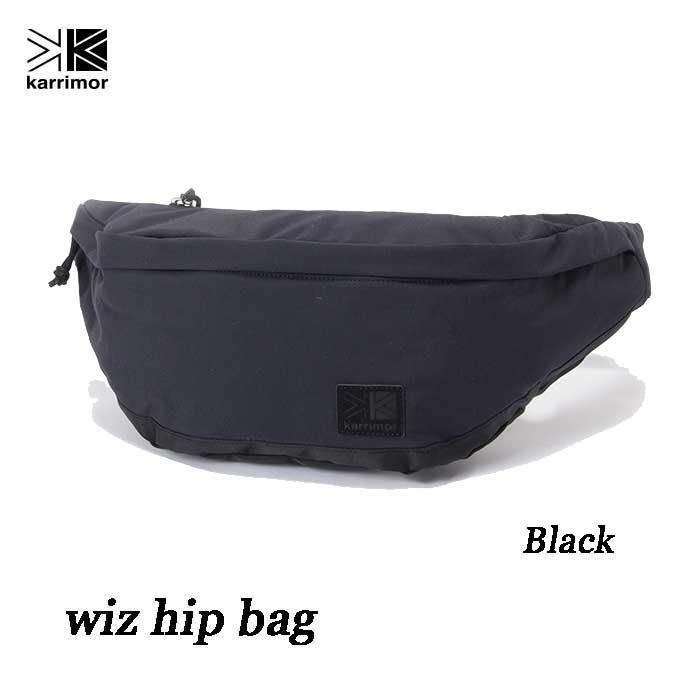カリマー ウィズ ヒップバッグ 7L ブラック Karrimor wiz hip bag 7L black