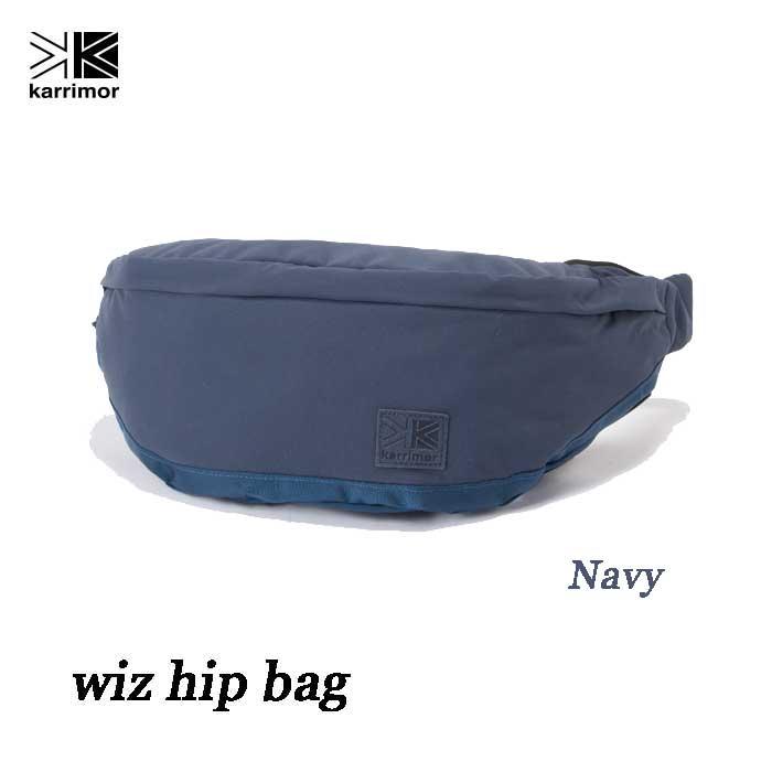 カリマー ウィズ ヒップバッグ 7L ネイビー Karrimor wiz hip bag 7L Navy