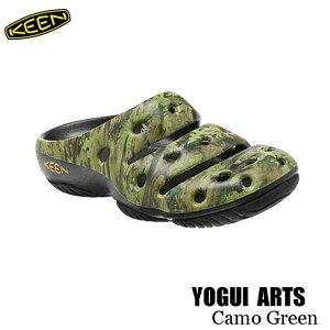 キーン 1002034 メンズ ヨギ アーツ サンダル クロッグ 継続カラー KEEN MENS YOGUI ARTS Camo Green