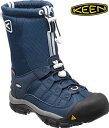キーン あす楽対応 メンズ ウィンターポート 2  防水、保温 軽量 ウィンター ブーツ KEEN MENS Winterport II 1014059 DRESS BLUES