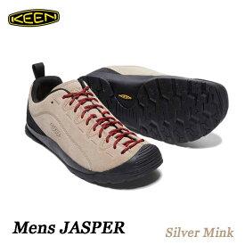 キーン 1002672 メンズ ジャスパー KEEN MENS JASPER Silver Mink スニーカー アウトドア トレッキング シューズ