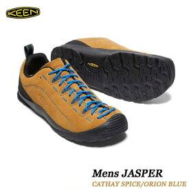 キーン 1002661 ジャスパー メンズ ジャスパー KEEN MENS JASPER 男性サイズ スニーカー アウトドア トレッキング シューズ CATHAY SPICE ORION BLUE