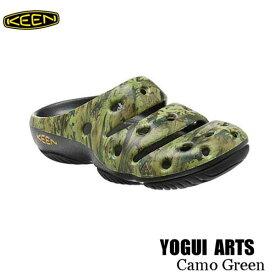 キーン 1002034 あす楽対応 継続カラー メンズ ヨギ アーツ サンダル クロッグ KEEN MENS YOGUI ARTS Camo Green