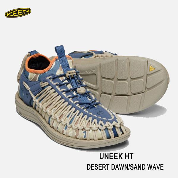 キーン メンズ ユニーク HT  スポーツスニーカー Keen Mens UNEEK HT 1019951 DESERT DAWN/SAND WAVE