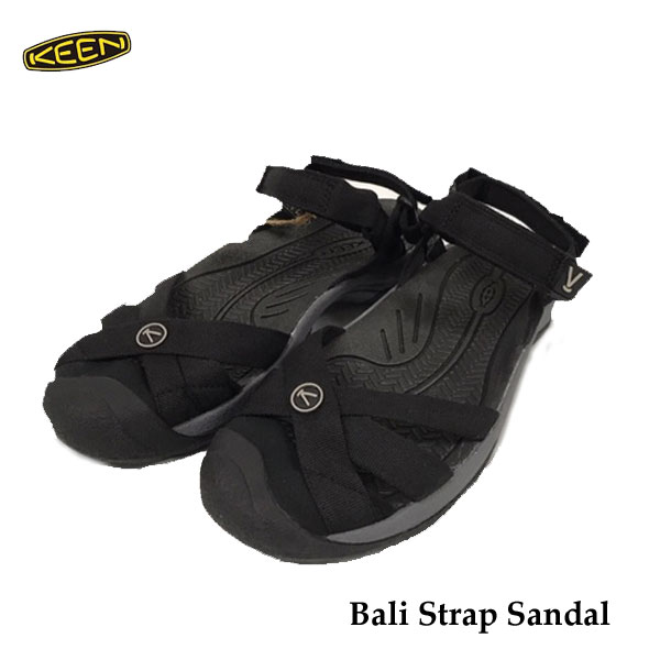 キーン ウィメンズ レディース バリストラップ サンダル Keen Womens Bali Strap Sandal 1018783 Black
