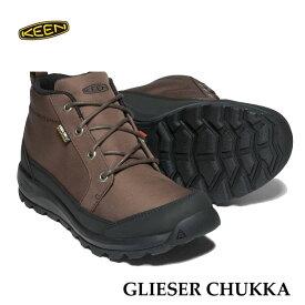 キーン 1021569 あす楽対応 メンズ グリーザー チャッカ ナイロン KEEN MENS GLIESER CHUKKA NYLON 防水ブーツ DEMITASSE/BLACK
