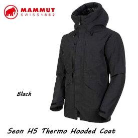 マムート 1010-26721-0001 セオン HS サーモ フーデッド コート メンズ ブラック MAMMUT Seon HS Thermo Hooded Coat Men black