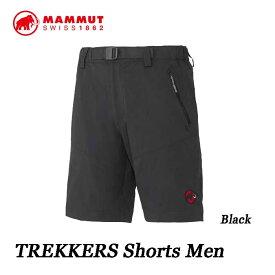 マムート あす楽対応 トレッカーズ ショーツ メンズ ブラック トレッキング用 ショートパンツ Mammut TREKKERS Shorts Men 1020-11850-0001 black