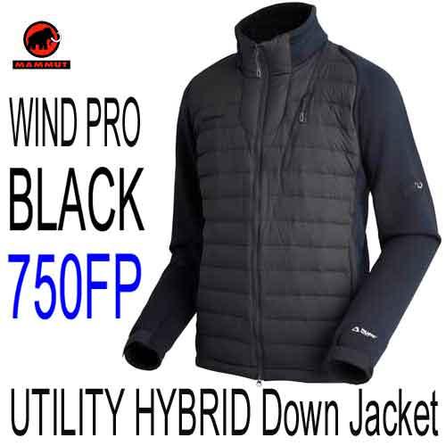 マムート 限定モデル あす楽対応 ユーティリティ ハイブリッド ダウン ジャケット メンズ ハイブリッド・ダウンジャケット MAMMUT UTILITY HYBRID Down Jacket Men 1013-00050-0001 black