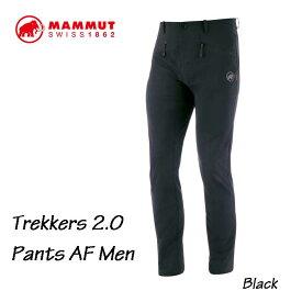 マムート 1021-00410-0001 トレッカーズ 2.0 パンツ AF メンズ ブラック アウトドア 登山 ソフトシェルパンツ Mammut Trekkers 2.0 Pants AF Men black
