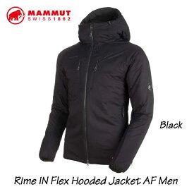 マムート 1013-00750-0001 ライム イン フレックス フーデッド ジャケット AF メンズ あす楽対応 MAMMUT Rime IN Flex Hooded Jacket AF Men Black