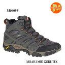 メレル モアブ 2 ミッド ゴアテックス M06059 BELUGA Merrell MOAB 2 MID GORE-TEX メンズ アウトドア ゴアテックス …